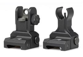 Aero Precision AR15 Flip uf Sight Set Gen2 Black