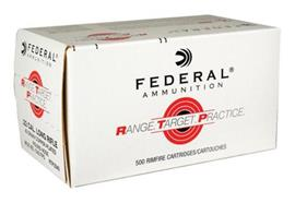 Federal 22Lr 40Gr Copper Plated 500 Schuss