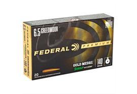 Federal 6.5 Creedmoor140Gr Sierra Match20 Schuss