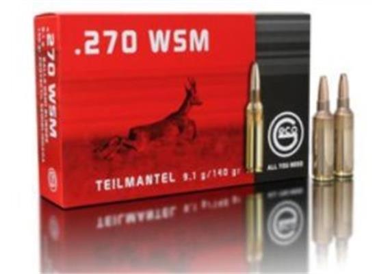 Geco .270 WSM 9.1g TM 20 Schuss