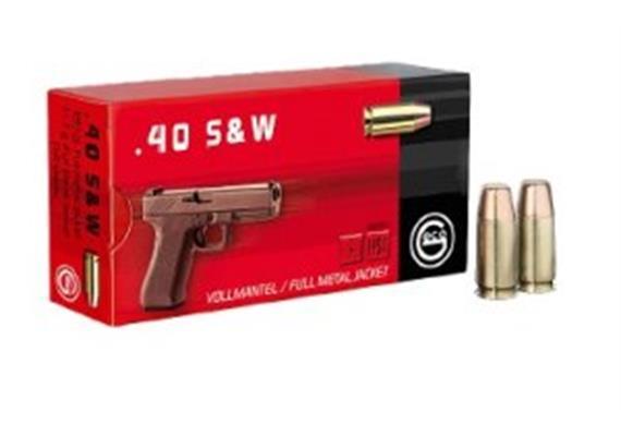 Geco 40 S&W 11.7g VM 50 Schuss