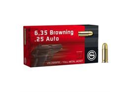 Geco 6.35mm Browning 3.2g VM 50 Schuss