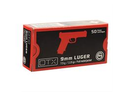 Geco 9mm Para 7.5g DTX VM 50 Schuss