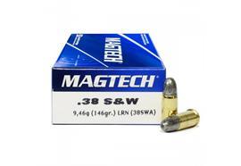 Magtech 38S&W 146gr LRN 50 Schuss
