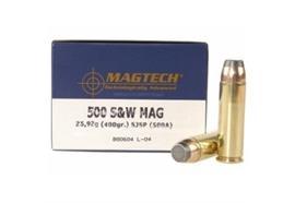 Magtech 500 S&W Mag 325gr FMJ-FLAT 20 Schuss