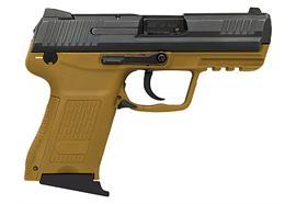 Pistole Heckler & Koch HK45 Compact Braun 45ACP