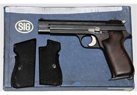 Pistole SIG P210-4 9mm Para
