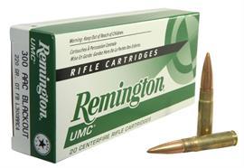 Remington 300 Blackout 220gr FB Subsonic 20 Schuss