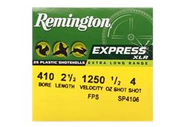 Remington 410/65 Express ELR No. 4 25 Schuss