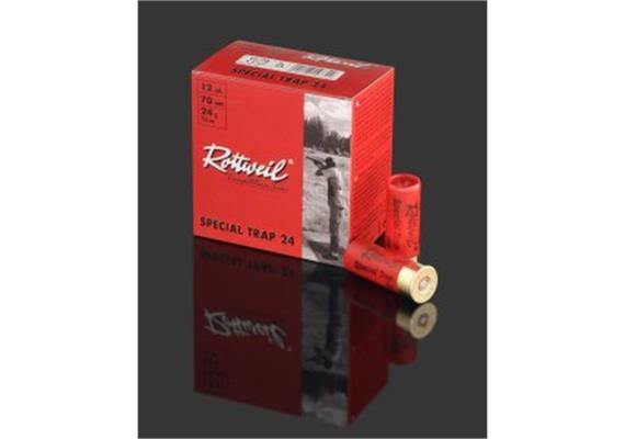 Rottweil 12/70 SpecialTrap 24g No7.5-2.4mm 25Schus