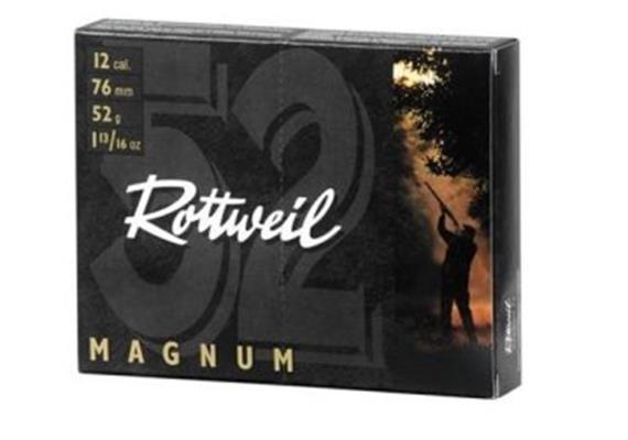 Rottweil 12/76 Magnum 52g No2-3.7mm 10Schuss