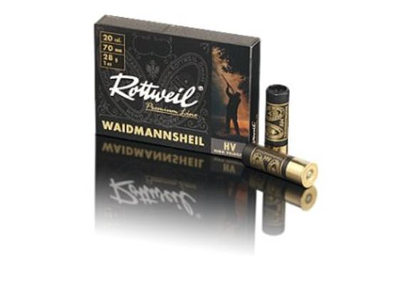 Rottweil 20/70 WheilSchwarz 28g No7-2.5mm 10Schuss