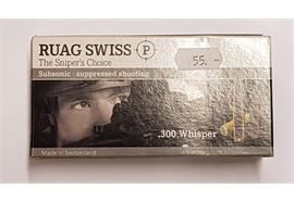 Ruag 300 Whisper 220gr Swiss P Target 20 Schuss