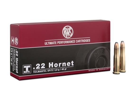 RWS .22 Hornet 3.0g K-TMS 20 Schuss