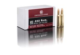 RWS .222 Rem 3.4g MJ 30 Schuss