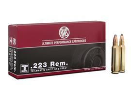 RWS .223 Remington 3.6g TMS 20 Schuss