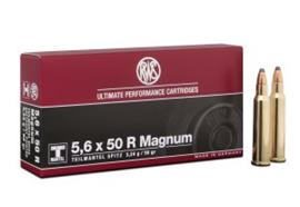 RWS 5.6x50R 3.24g Mag TMS 20 Schuss