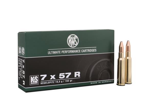 RWS 7x57R 10.5g KS 20 Schuss