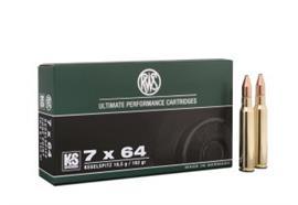 RWS 7x64 10.5g KS 20 Schuss