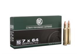 RWS 7x64 8.0g KS 20 Schuss