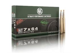 RWS 7x64 9.1g HIT 20 Schuss
