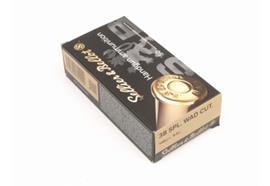 Sellier & Bellot 38 Spezial Wad Cutter 50 Schuss
