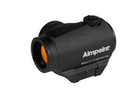 Aimpoint Micro H-1 Picatinny 4 MOA Schwarz