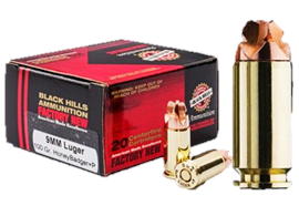 Black Hills HoneyBadger Cal. 9mm Para Sub20 Schuss