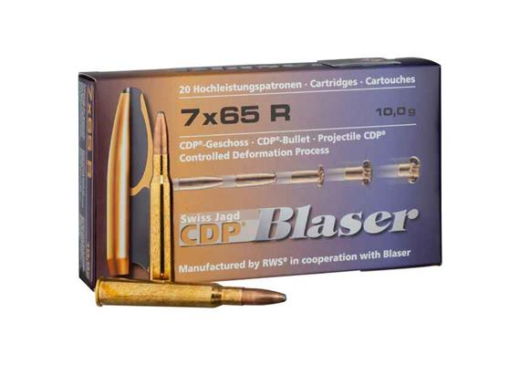 Blaser 7x65R 10.0g CDP 20 Schuss