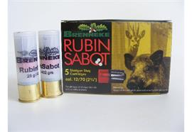 Brenneke 12/70 Rubin Sabot FLG 5 Schuss
