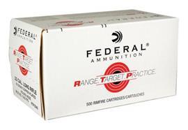 Federal 22Lr 40Gr Copper Plated 500 Schuss