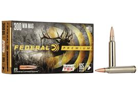 Federal 300WinMag Barnes TSX 180gr 20 Schuss
