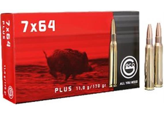 Geco 7x64 11g Plus 20 Schuss