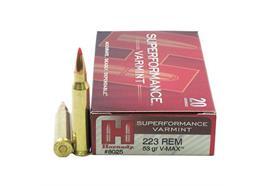 Hornady 223Rem 53Gr V-Max 20 Schuss
