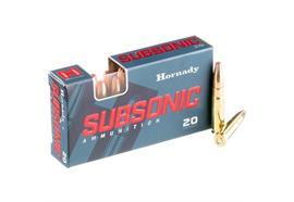 Hornady 300 Blackout 190gr SUBX Subsonic 20 Schuss