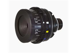 Irisblende mit Farbfilter M9.5x1