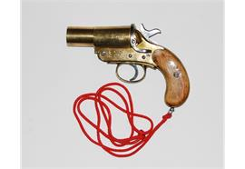 Pistole CSR Sydney 42 Signalpistole Kal.4 26.5mm