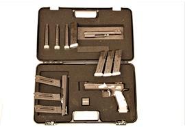 Pistole Tanfoglio Limited 9mm mit 2 Wechselsystemen