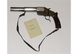 Pistole W+F Raketenpistole 17/38 Kal.1 34mm