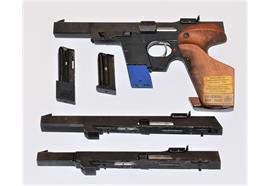 Pistole Walther GSP 22Lr mit 3 Schlitten