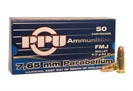 Privi Partizan 7.65 Parabellum 6.0g 50 Schuss