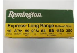 Remington 12/89 Long Range BB Shot 10 Schuss