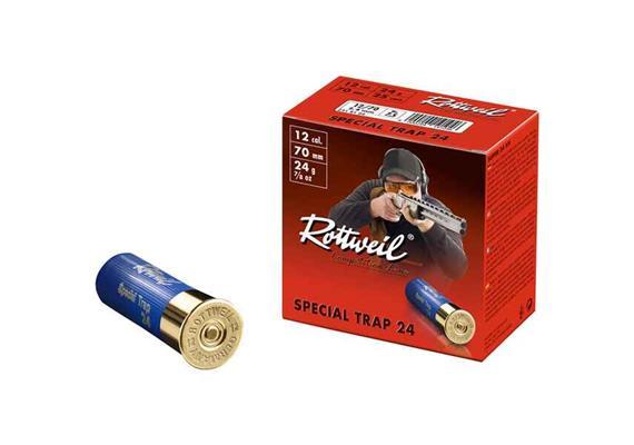 Rottweil 12/70 Special Trap 24g 2.4mm 25 Schuss