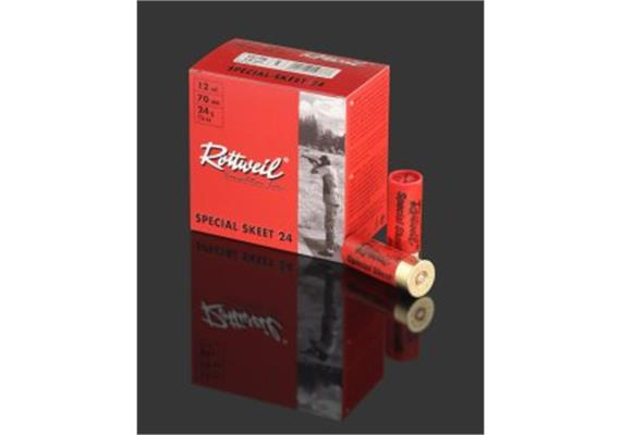 Rottweil 12/70 SpecialSkeet 24g No9-2.0mm 25Schuss