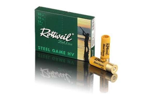 Rottweil 20/70 Steel Game 24g No6-2.6mm 10Schuss
