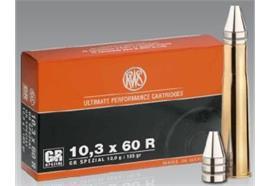 RWS 10.3x60R 12g GR Special 20 Schuss