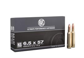 RWS 6.5x57 8.2g Kegelspitz 20 Schuss