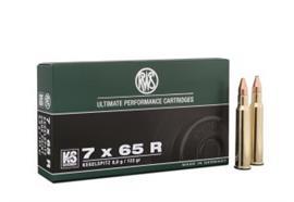 RWS 7x65R 8.0g KS Kegelspitz 20 Schuss