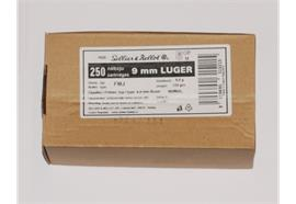 Sellier & Bellot 9mm Para 250 Schuss