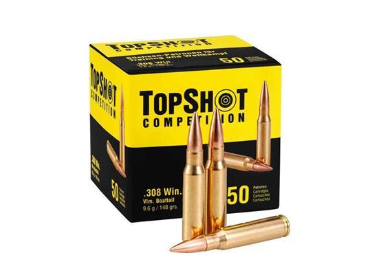 TopShot .308 Win 9.6g Vlm Boattail 50 Schuss